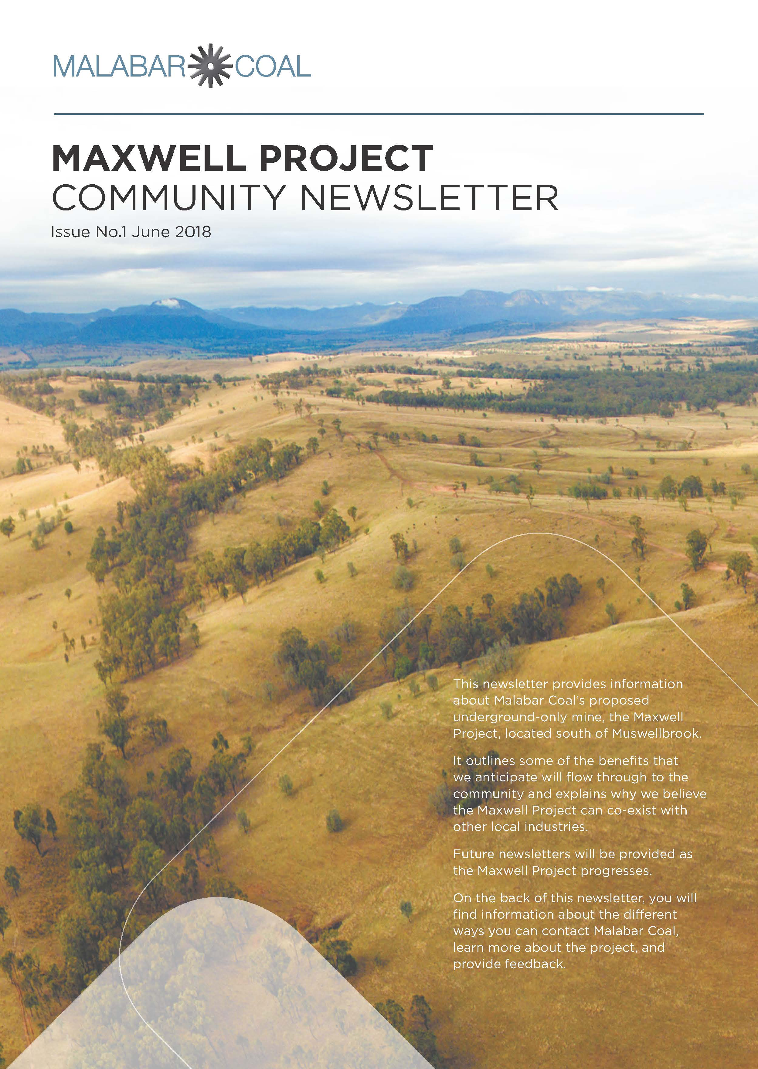Malabar Coal Community Newsletter Vol. 1 June 2018
